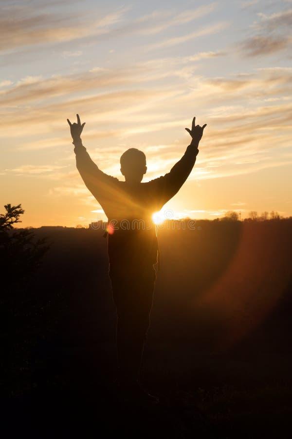 szczęśliwy słońca zdjęcia royalty free