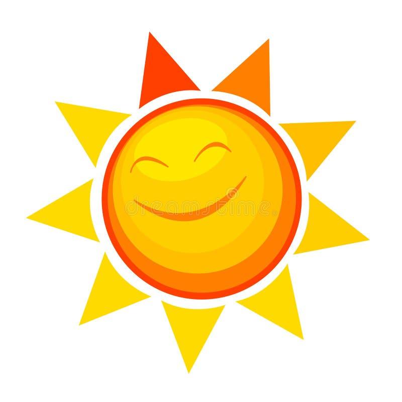 szczęśliwy słońce