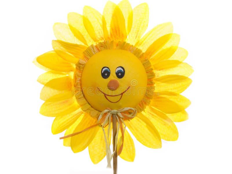 szczęśliwy słonecznik zdjęcie royalty free