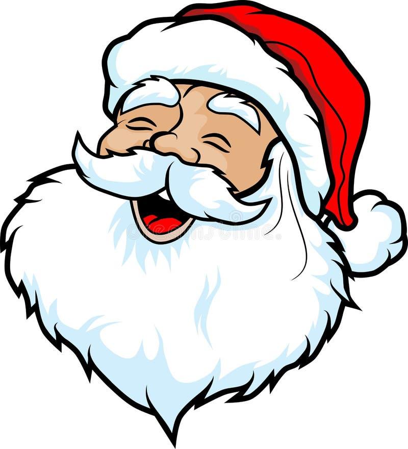 Szczęśliwy Santa ilustracja wektor
