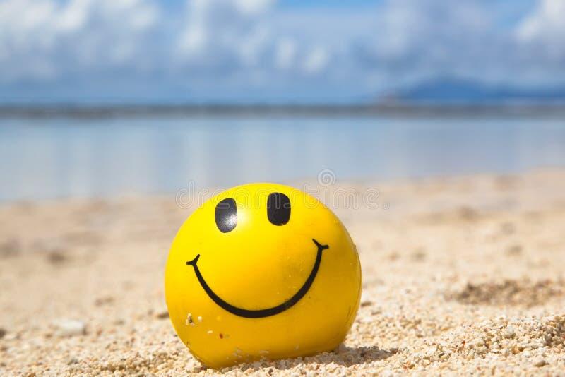 Szczęśliwy sunbathing zdjęcie royalty free