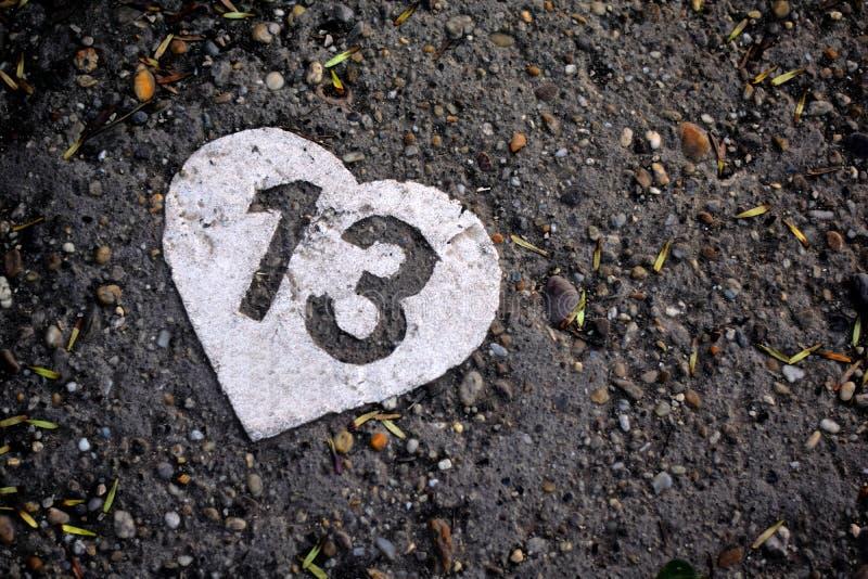 Szczęśliwy 13 th! zdjęcia stock