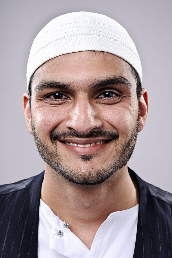 Szczęśliwy uśmiechnięty portret obrazy royalty free