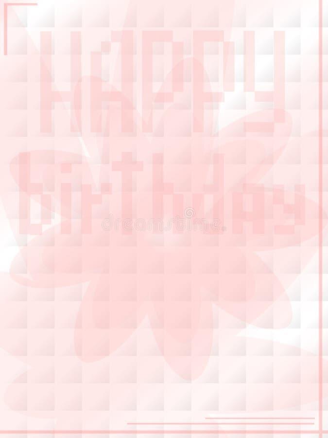 szczęśliwy urodziny. ilustracji