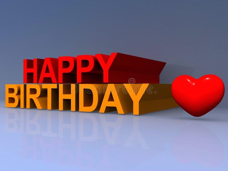 Download Szczęśliwy urodziny ilustracji. Ilustracja złożonej z artystyczny - 65225961