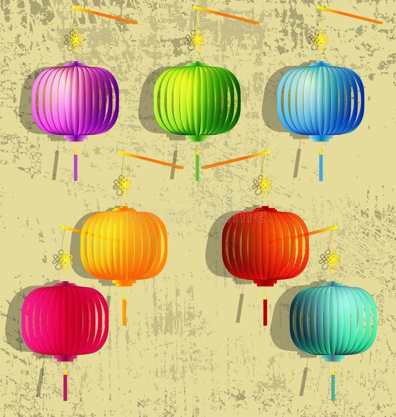 Szczęśliwy w połowie jesień festiwal ilustracja wektor