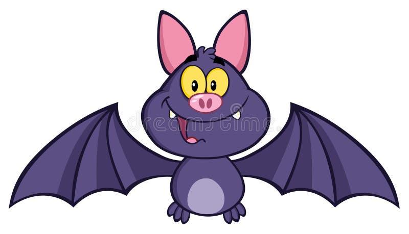 Szczęśliwy wampira nietoperz ilustracji