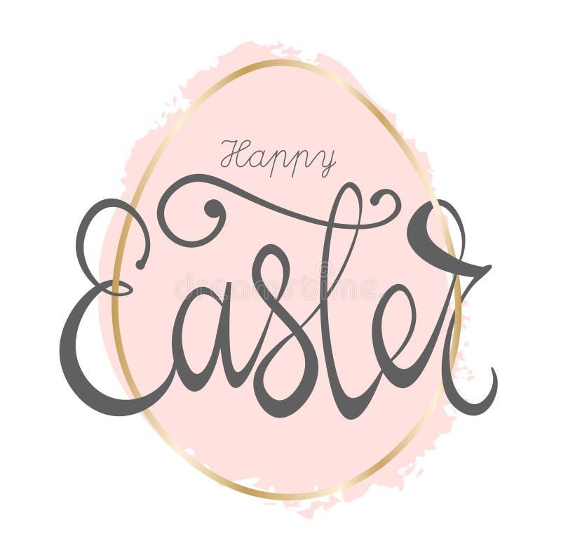 Szczęśliwy Wielkanocny literowanie