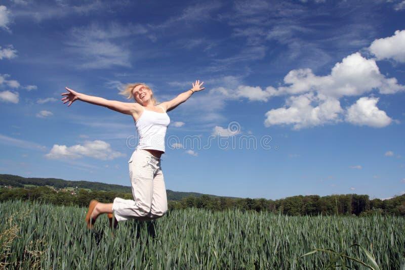 szczęśliwy z dziewczyną zdjęcia royalty free