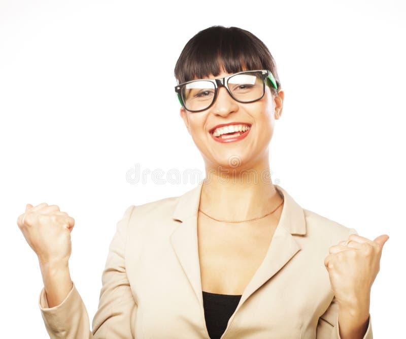 Szczęśliwy zwycięzca. obraz stock