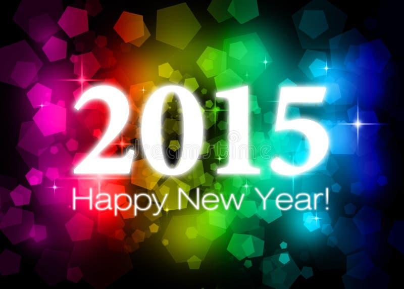 2015 Szczęśliwych nowy rok zdjęcia royalty free