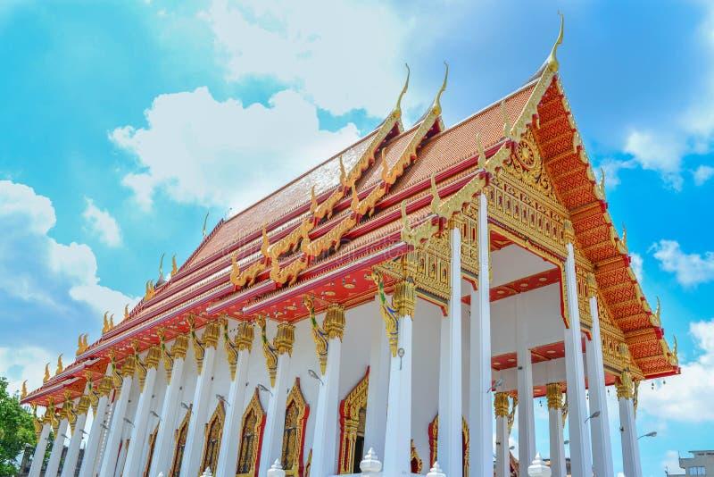 Szczęsliwa Buddha świątynia zdjęcia royalty free