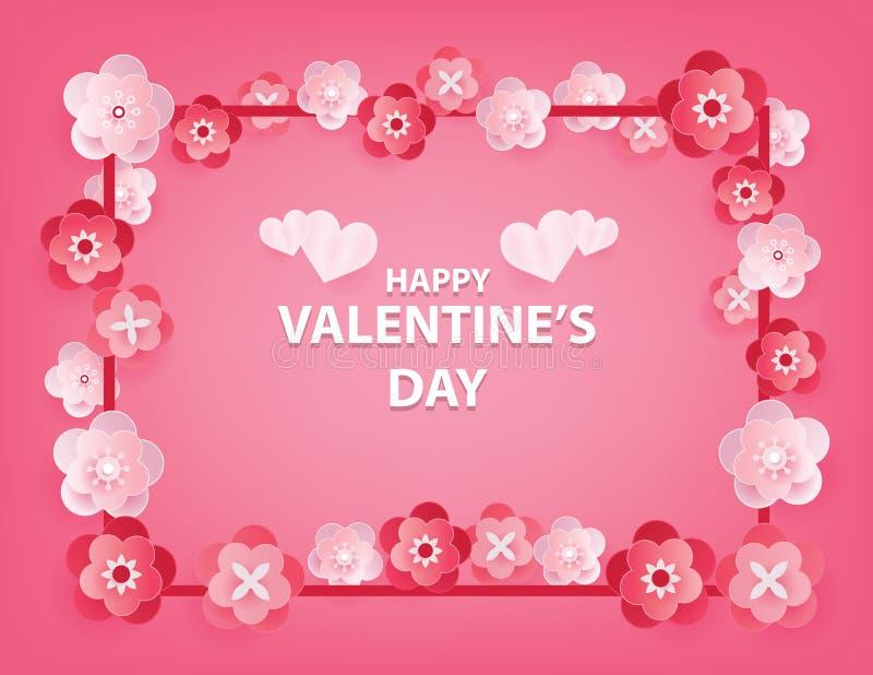 szcz??liwy dzie? valentine s Przedmiota tło z wakacje Pojęcia valentine wektoru ilustracja royalty ilustracja