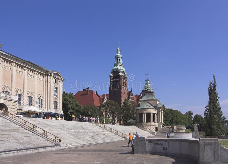 Szczecin royalty-vrije stock afbeeldingen