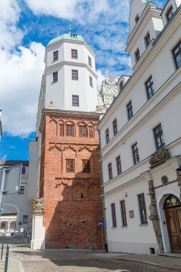 Tower of Ducal Castle in Szczecin. royalty free stock image