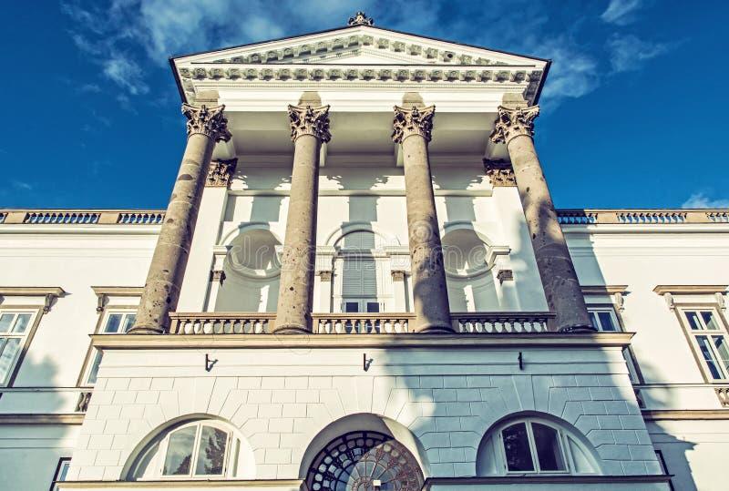 Szczegół fotografia Topolcianky kasztel, Sistani obraz royalty free