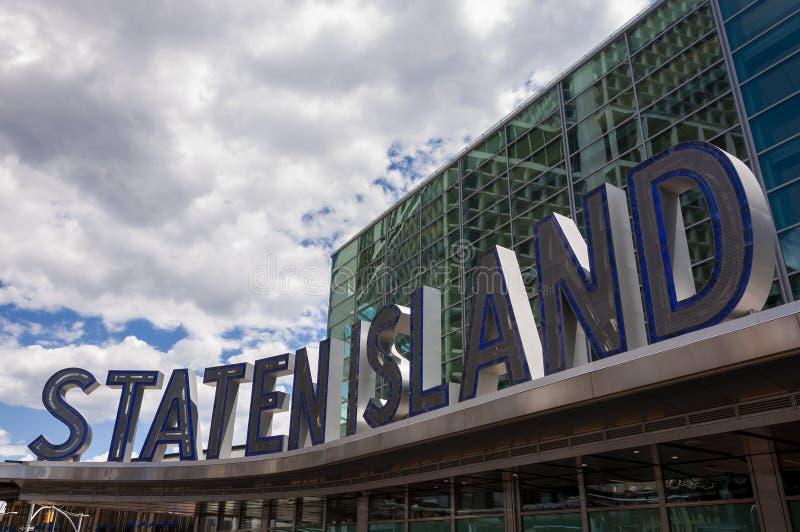 Szczegół Staten Island promu Śmiertelnie w Miasto Nowy Jork obraz stock