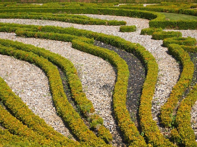 Szczegółów Francuza Ogród ładny Obrazy Royalty Free