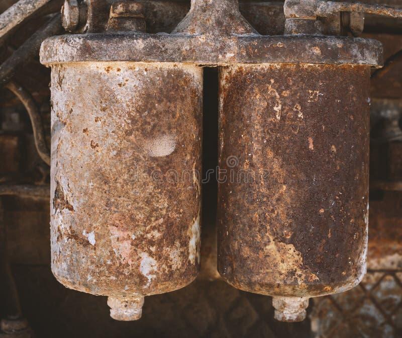 szczegółów silnika diesla silnika s ciągnik Silnik Diesla zdjęcia stock