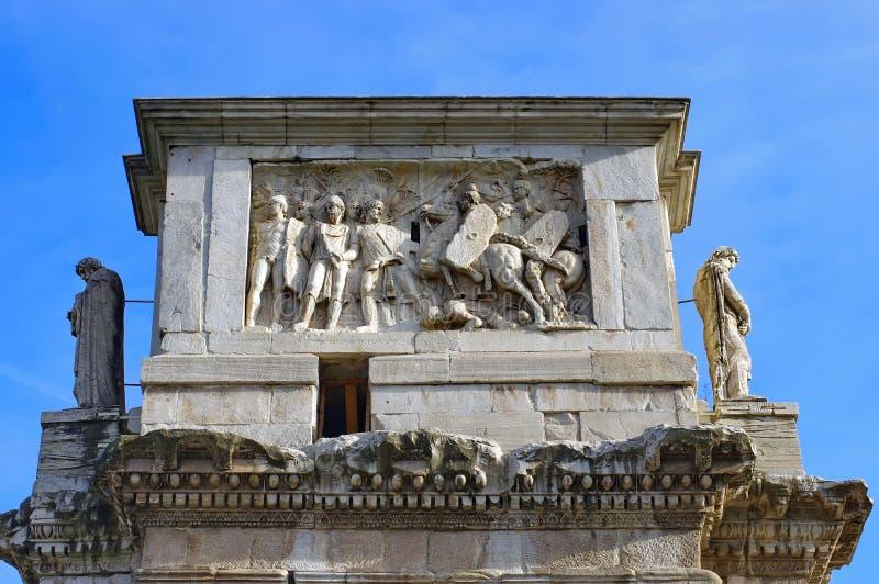 Szczegół łuk Constantine obraz royalty free