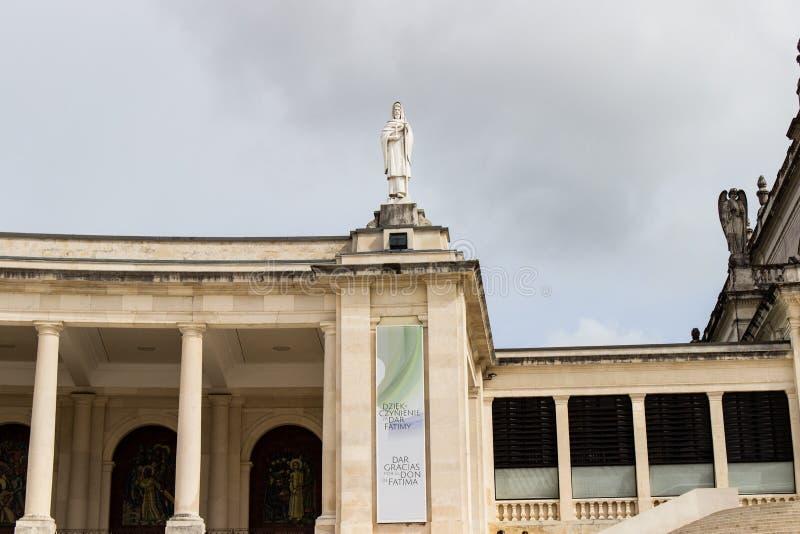 Szczegół świątobliwy wizerunek w Fatima, Portugalia zdjęcia royalty free