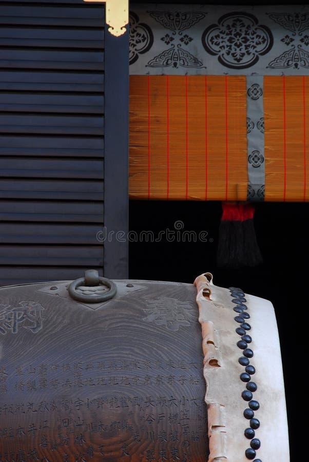 Szczegół świątynia z bębenem zdjęcia stock