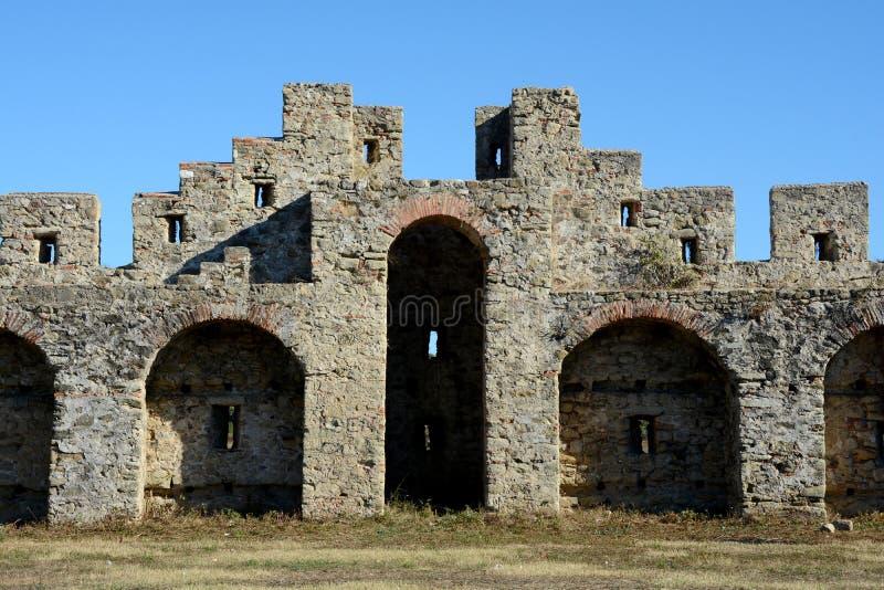 Szczegół antyczny Bashtova forteca obraz royalty free