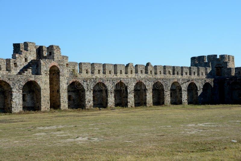 Szczegół antyczny Bashtova forteca zdjęcie royalty free