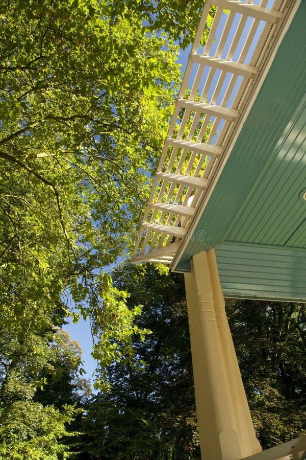 Szczegół bandstand fotografia royalty free