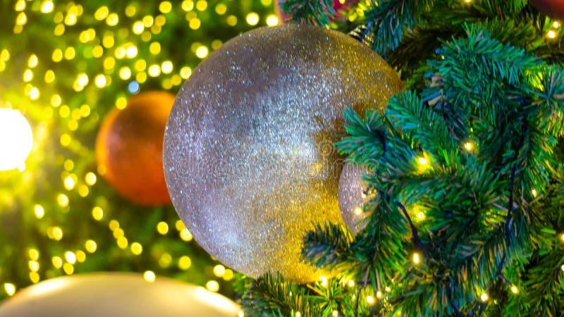 Szczegół boże narodzenie dekoracja zdjęcie royalty free