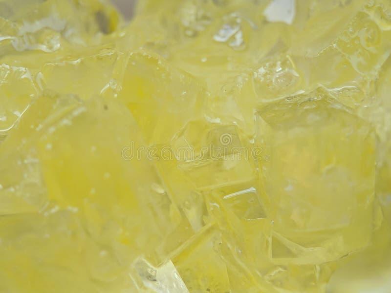 Szczegół brąz skały cukier na makro- strzale obrazy stock