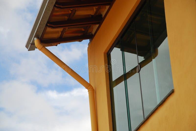 Szczegół domu na wsi okno w Brazylia obraz stock