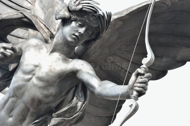 Szczegół Eros statua obraz stock