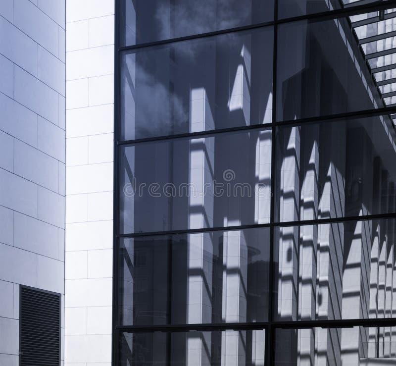 Szczegół fasada biznesowy budynek w Frankfurt, niemiec zdjęcie royalty free