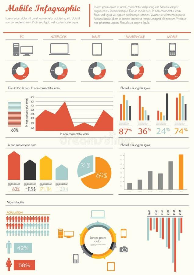 szczegół infographic ilustracji