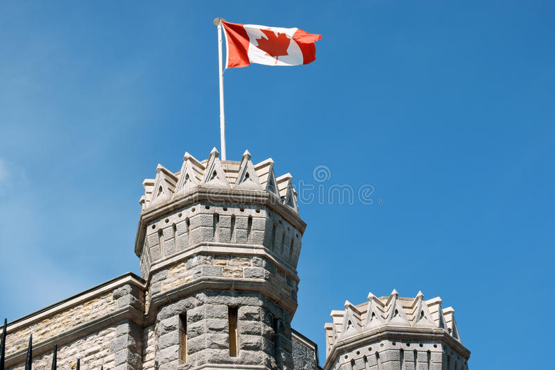 szczegół kanadyjska mennica Ottawa królewski obraz stock