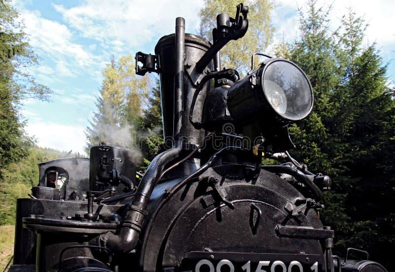 szczegół kontrpara lokomotoryczna stara fotografia stock