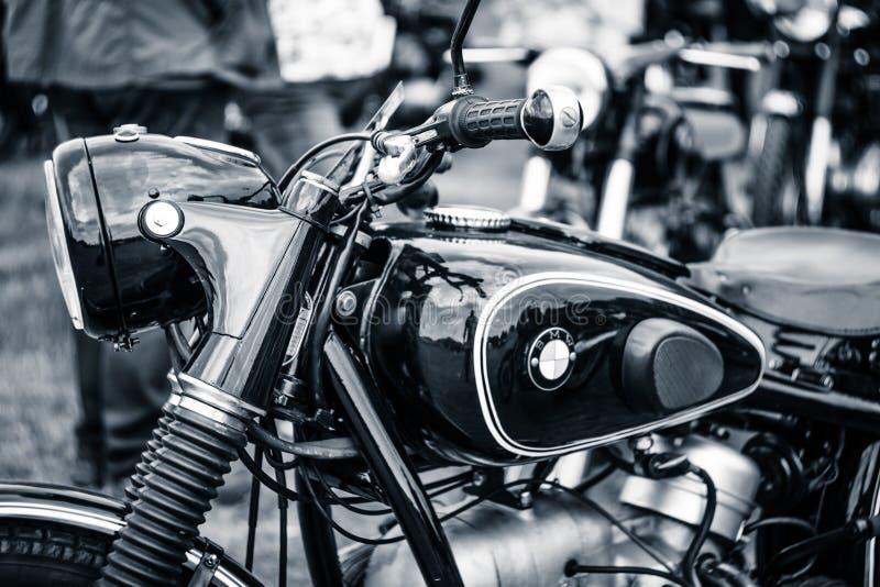 Szczegół motocykl BMW R51/3 zdjęcie stock