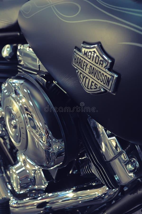 Szczegół motocykl Harley-Davidson fotografia royalty free