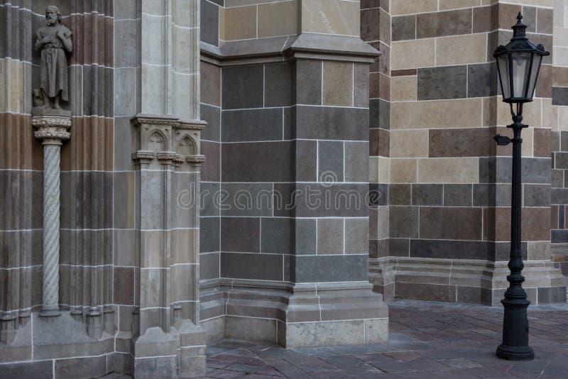 Szczegół na katedrze, KoÅ ¡ lód, Sistani zdjęcie royalty free