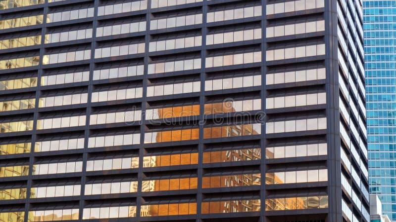 Szczegół, Nowożytna architektura, Chicagowski Illinois, usa obraz stock