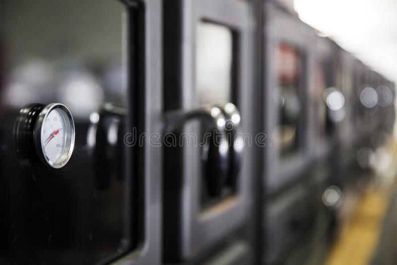 Szczegół od piecowej fabryki obrazy stock