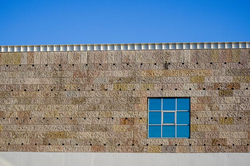 Szczegół okno na budynku zdjęcia royalty free