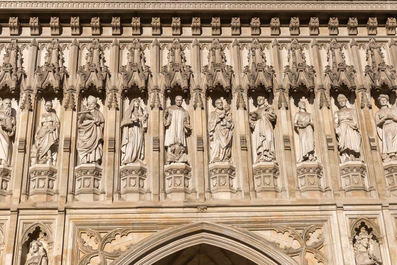 Szczegół opactwo abbey w Londyn, UK fotografia royalty free