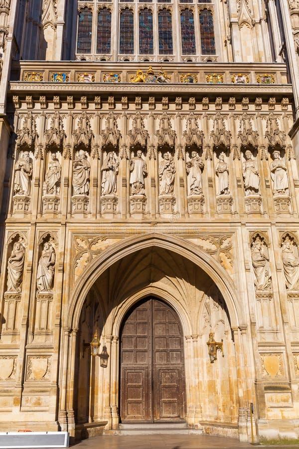 Szczegół opactwo abbey w Londyn, UK fotografia stock