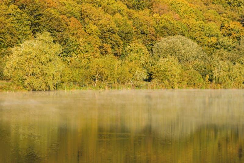 Szczegół piękny jezioro w górach fotografia stock