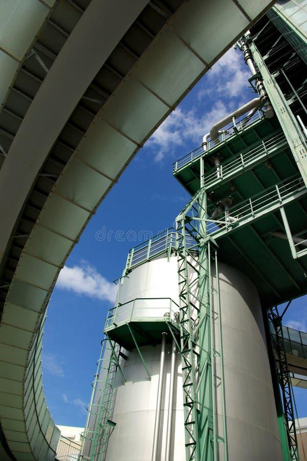 szczegół rafineria zdjęcia royalty free