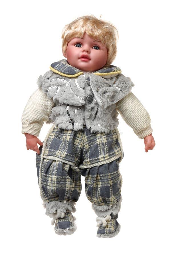 Szczegół stare lale ubierać w typowym kostiumu obraz royalty free