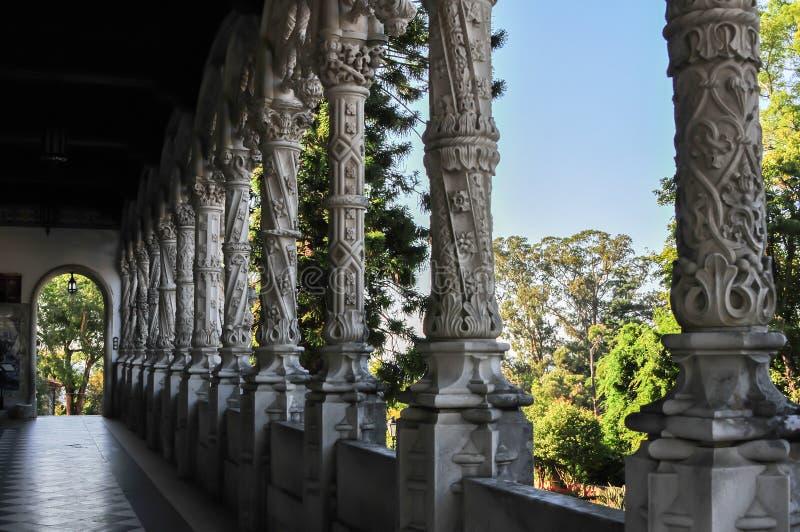 Szczegół stary klasztor obraz royalty free