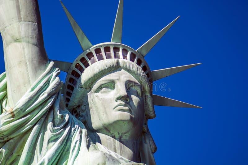 Szczegół statua wolności w Nowy Jork obrazy royalty free